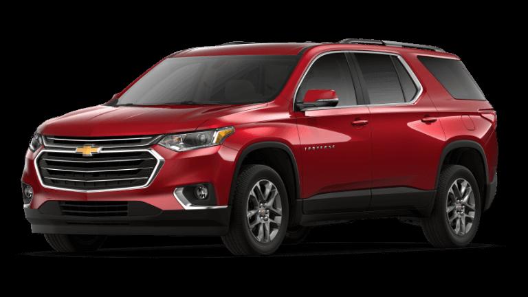 2019 Chevy Traverse LT - Cajun Red