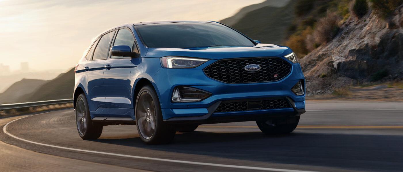 2019 Ford Edge exterior sunset turn