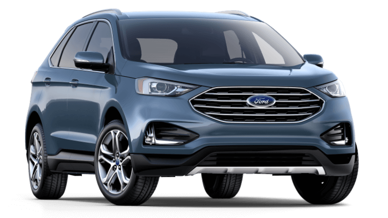 2019 Ford Edge Titanium - Blue