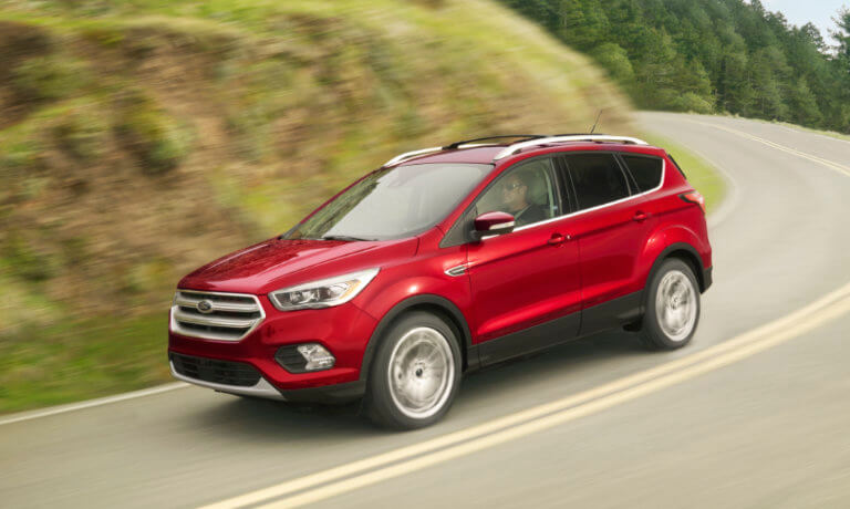 2019 Ford Escape Exterior driving countryside