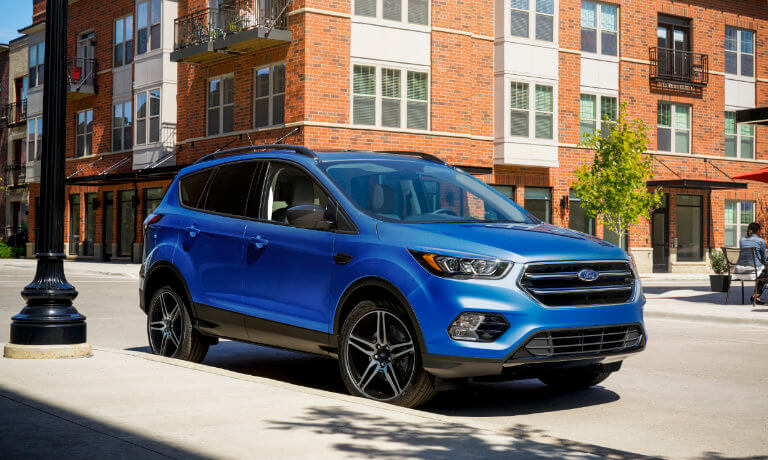 2019 Ford Escape exterior parked in town