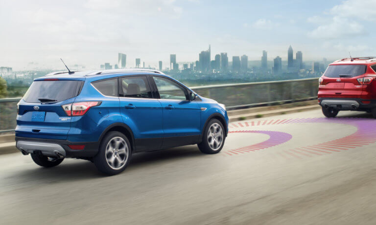 2019 Ford Escape Exterior Safety Sensors