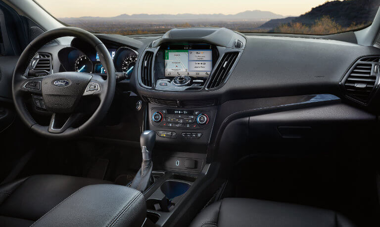 2019 Ford Escape Interior Front View