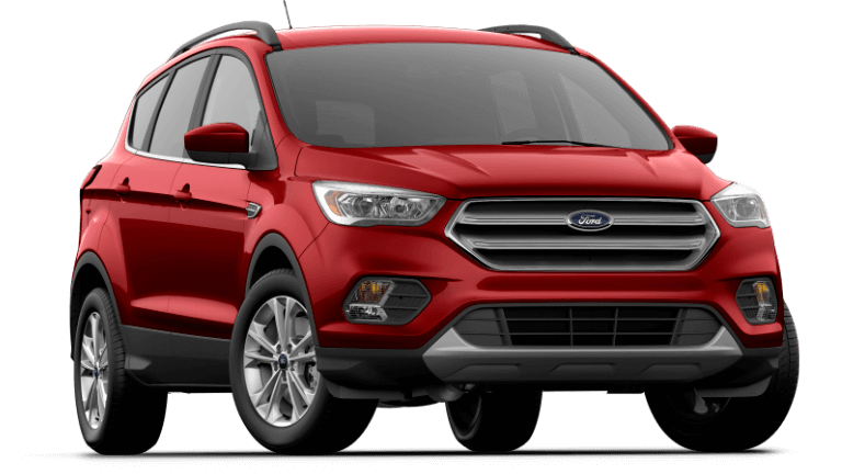 2019 Ford Escape SEL - Ruby Red