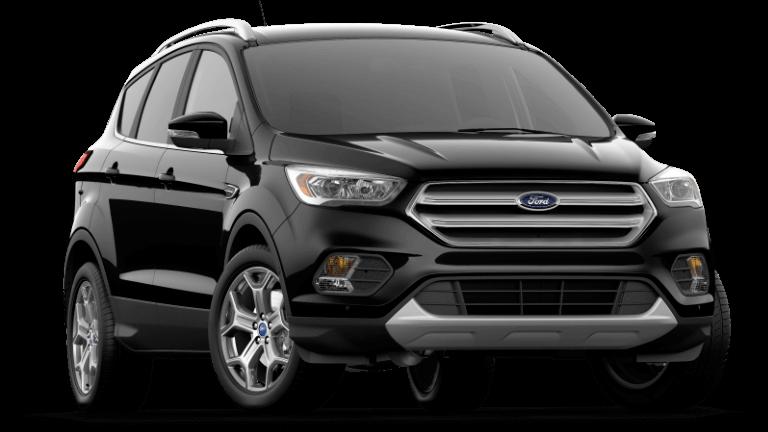 2019 Ford Escape Titanium - Agate Black