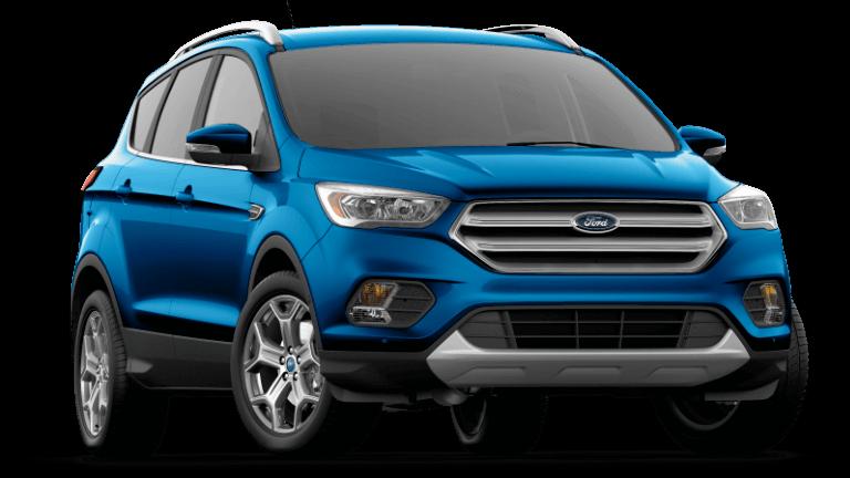 2019 Ford Escape Titanium - Lightning Blue