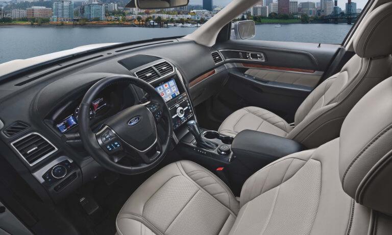 2019 Ford Explorer Front Interior