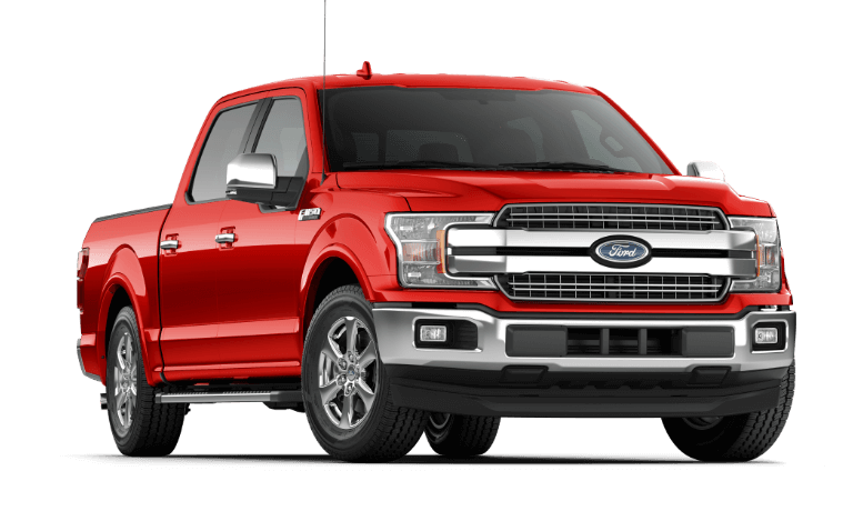 2019 Ford F-150 Lariat Red