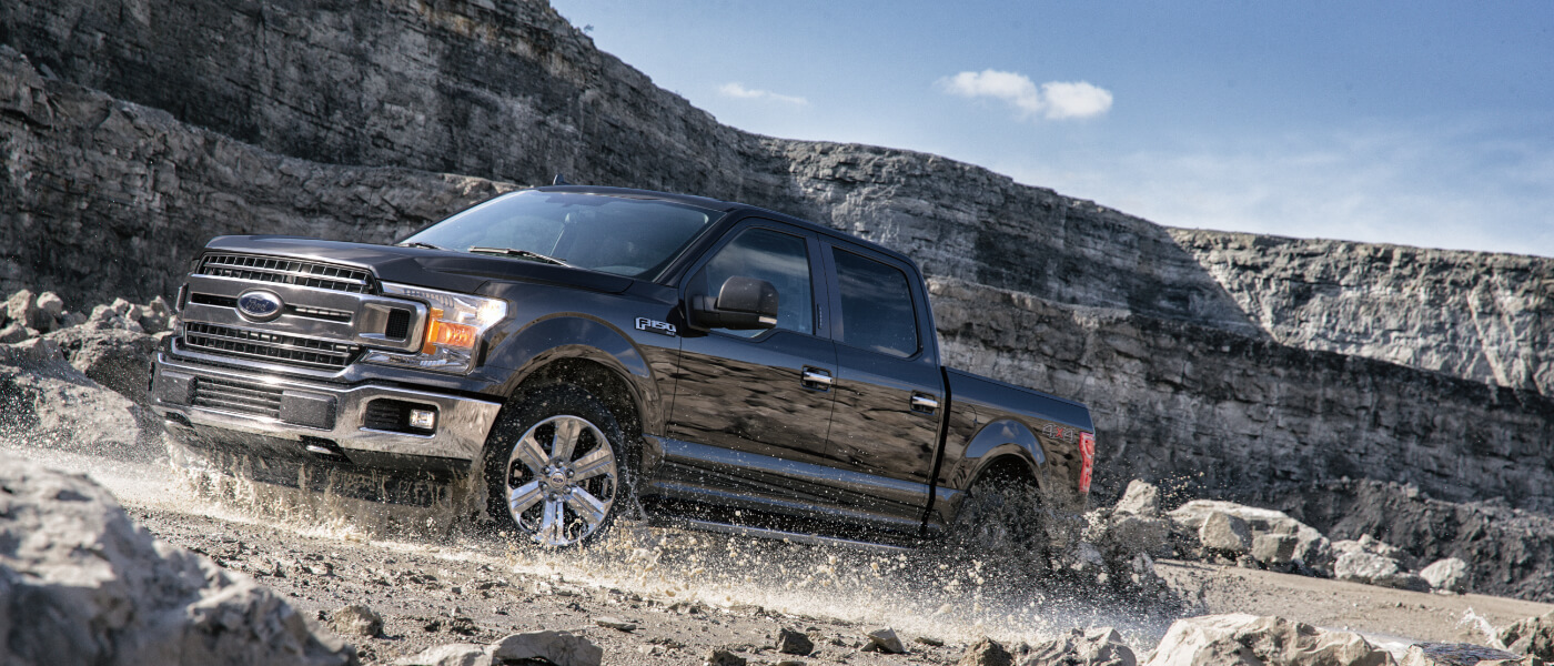 Ford F  On Rocky Canyon Trail