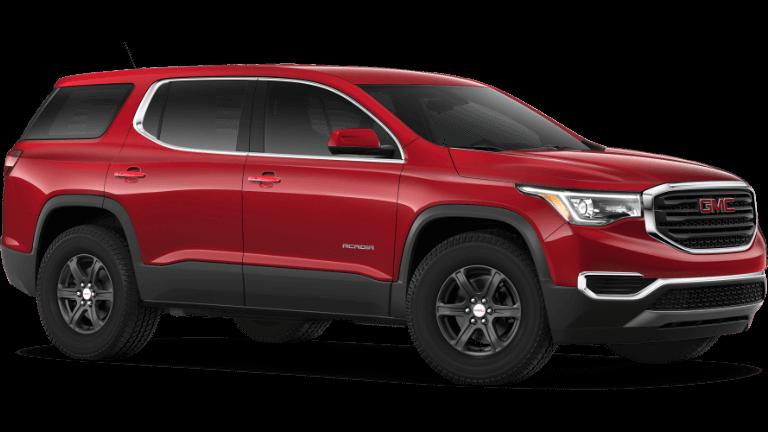 2019 GMC Acadia SL - Red Quartz