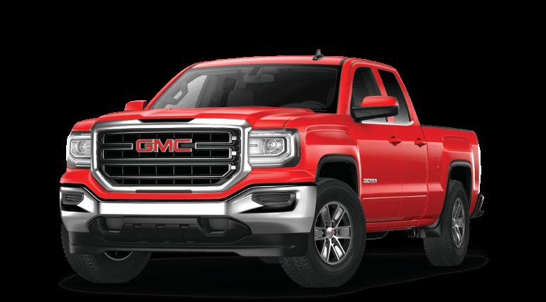 2019 GMC Sierra 1500 SLE Red