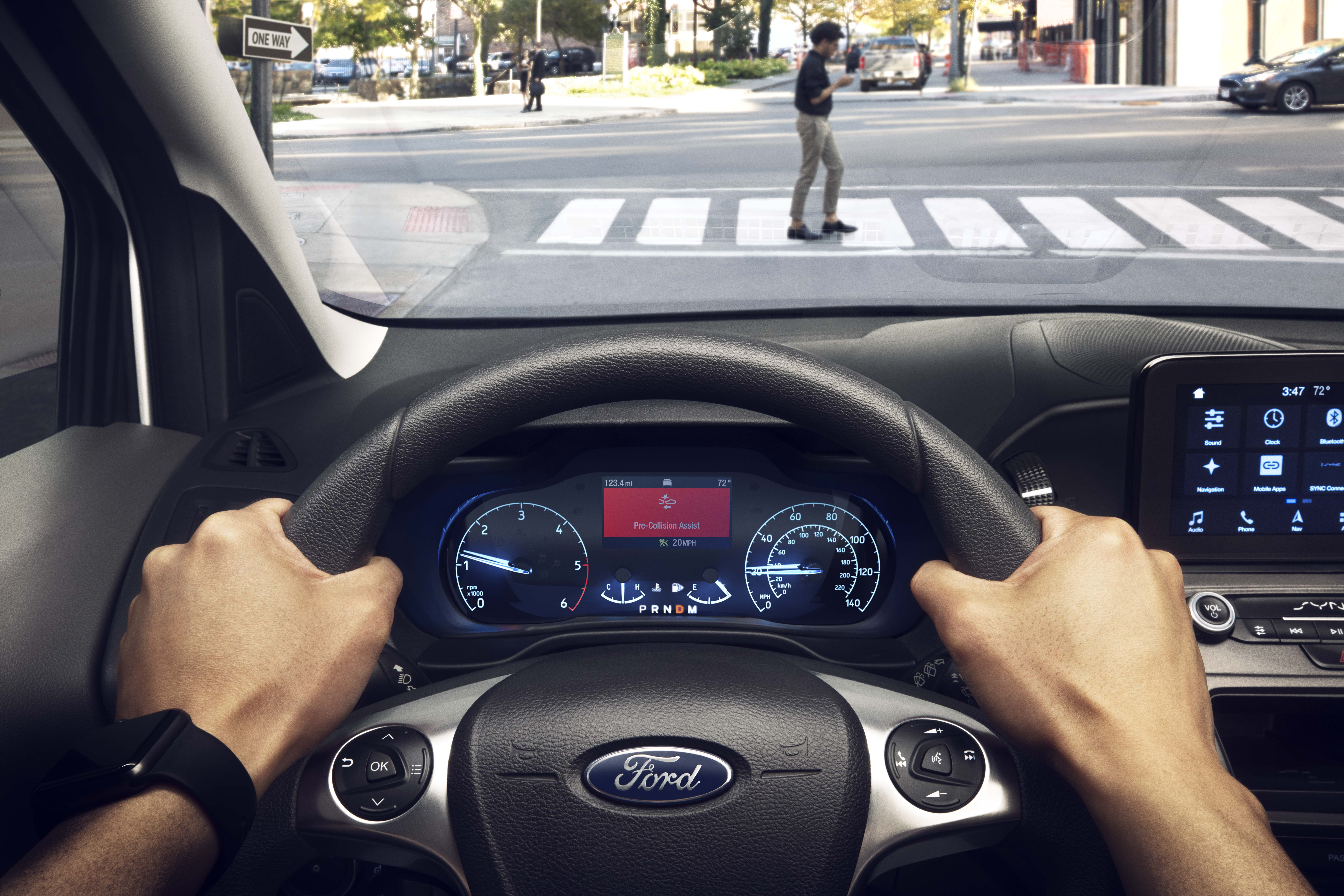 2019 Ford Transit Connect Pre-collision assist