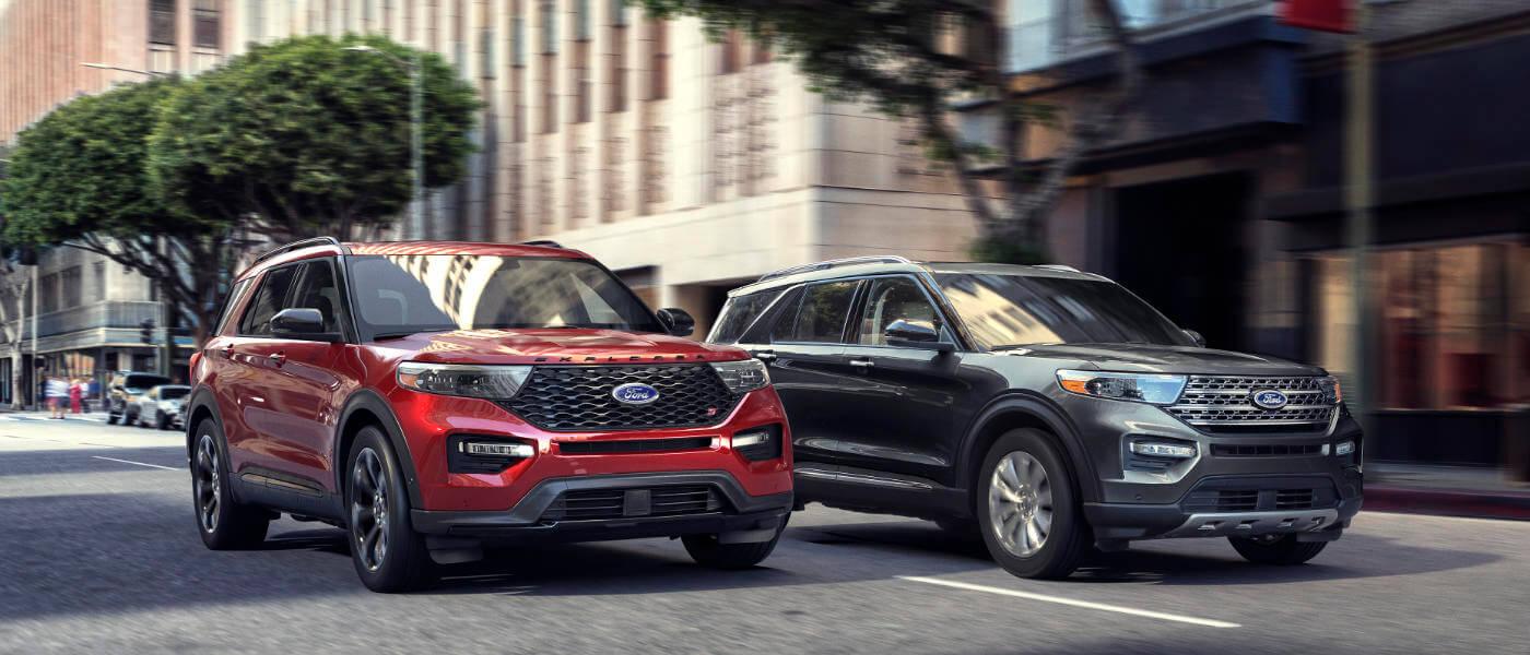 2017 Ford Explorer Mpg >> 2020 Ford Explorer Xlt Vs Limited Vs St Vs Platinum Westlie Ford