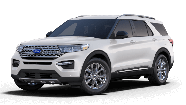2020 Ford Explorer Limited - Oxford White