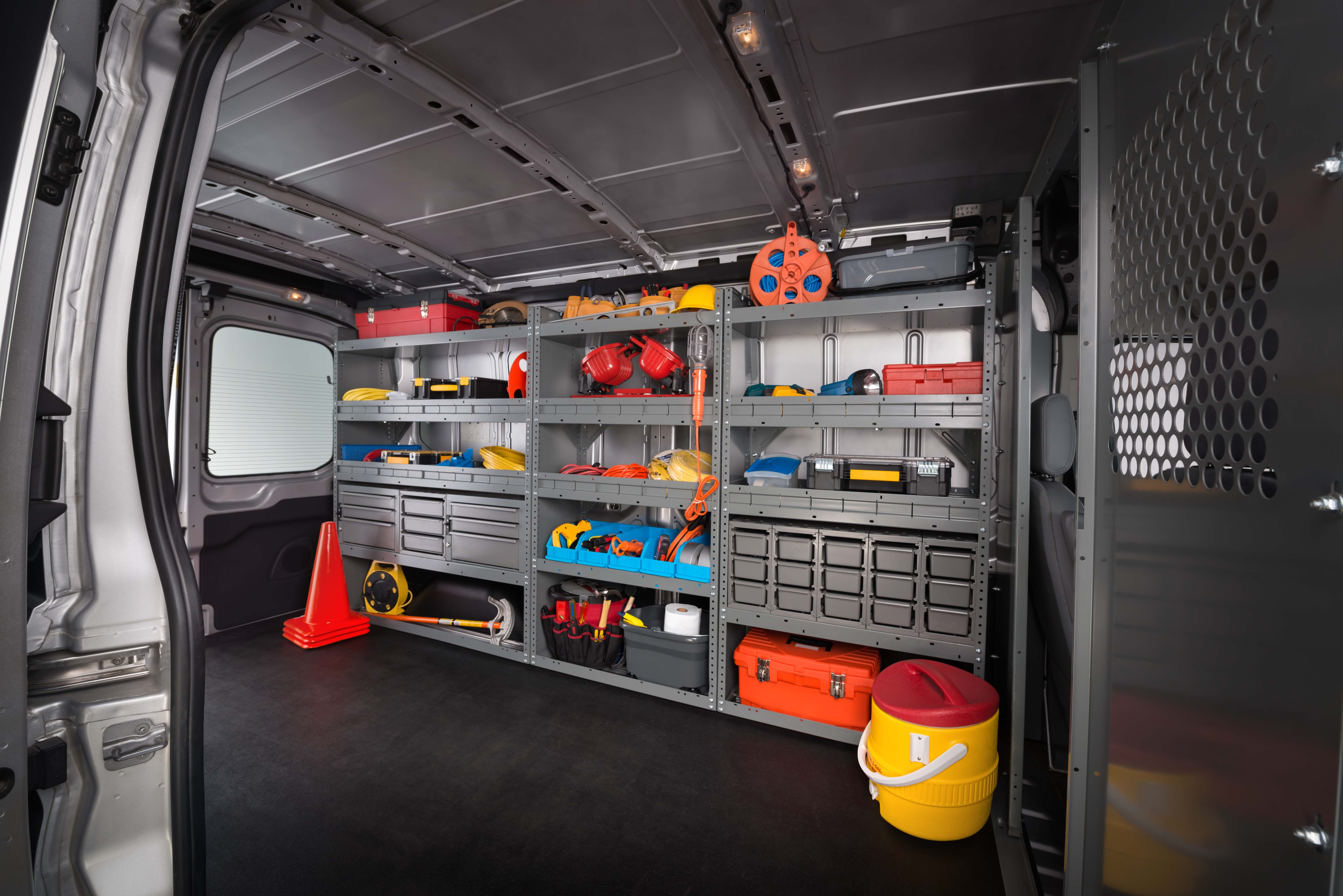 2019 Ford Transit cargo space