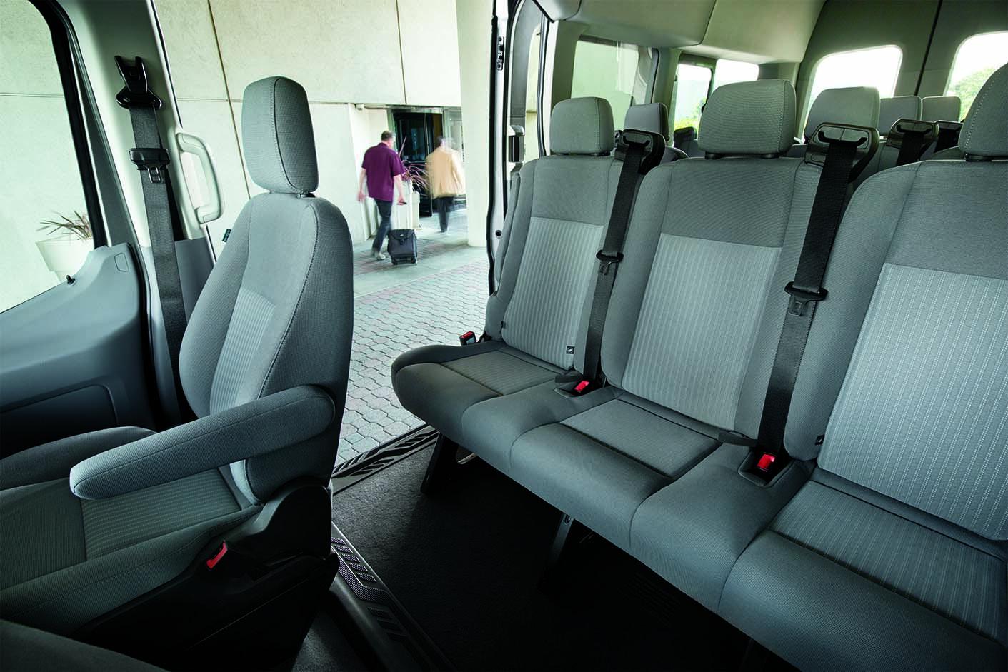 2019 Ford Transit sliding door