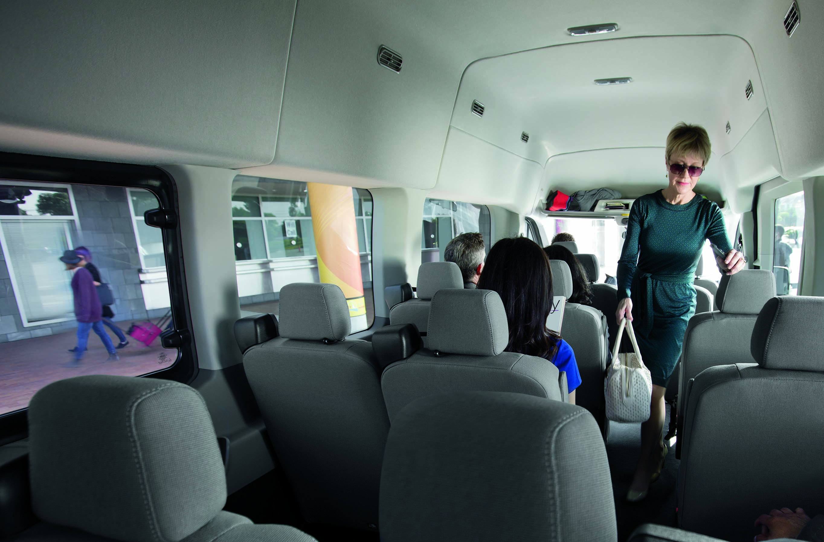 2019 Transit interior