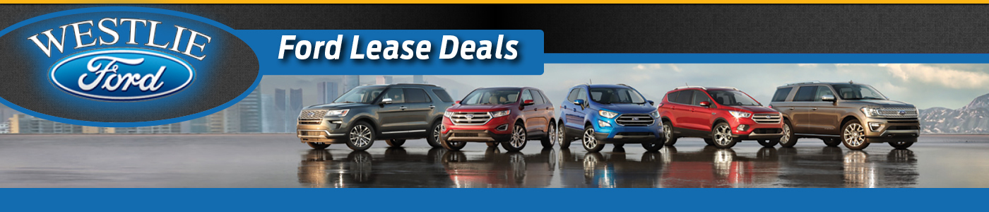 Ford Lease & Finance Offers