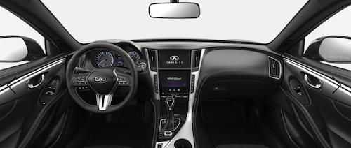2019 INFINITI Q60 Dash