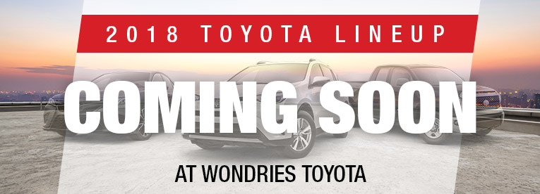 2018 Toyota Lineup Coming Soon