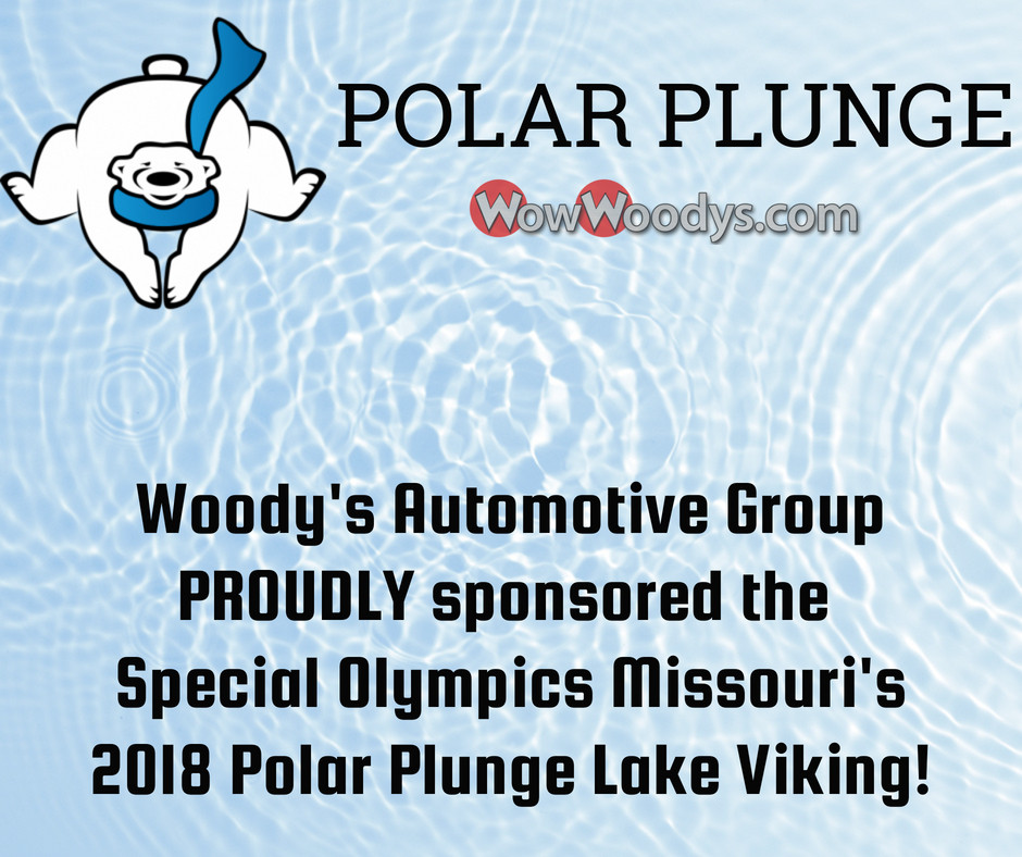 Woody's Automotive Group is a PROUD sponsor of the Special Olympics Missouri's  2018 Polar Plunge Lake Viking!
