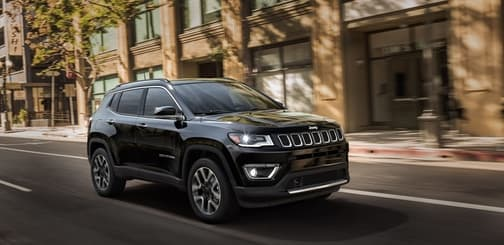 The 2017 Jeep Compass Offers A Stylish Interior & Lots Of Cargo Space