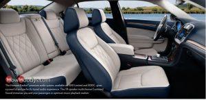 2019 Chrysler 300 Model Differences