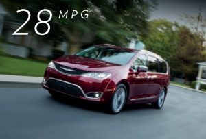 Unsurpassed fuel efficient with the 2019 Chrysler Pacifica