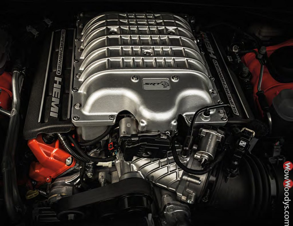 2019 Dodge Challenger SRT Hellcat Redeye Engine