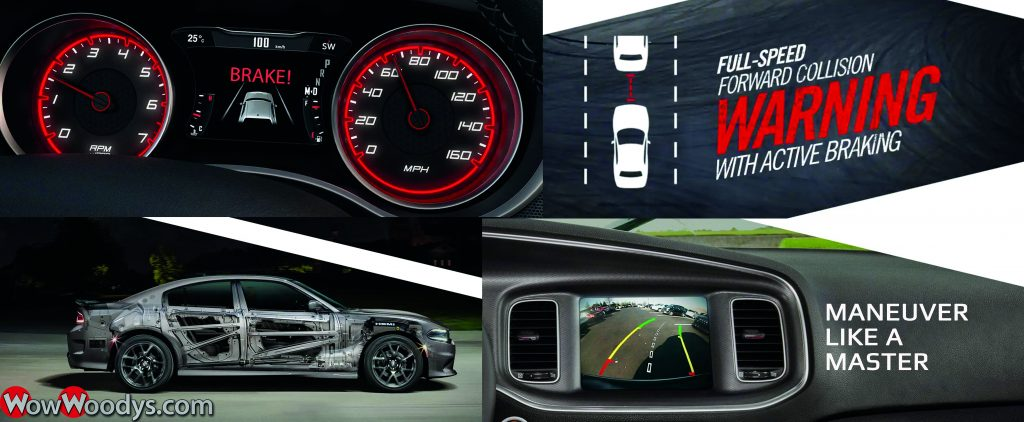 2019 Dodge Charger Safety and Security