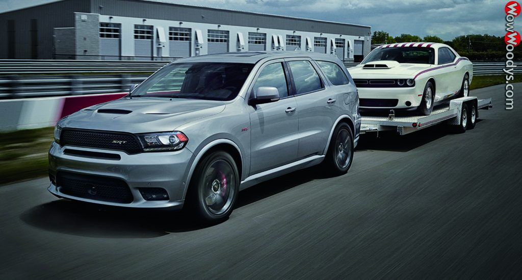2019 Dodge Durango best in class towing up to 8700 pounds