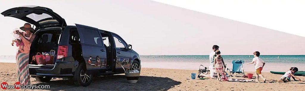 2019 Dodge Grand Caravan at the Beach