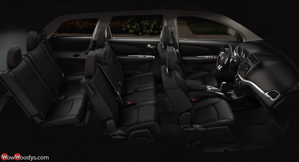 2019 Dodge Journey Third Row Seating