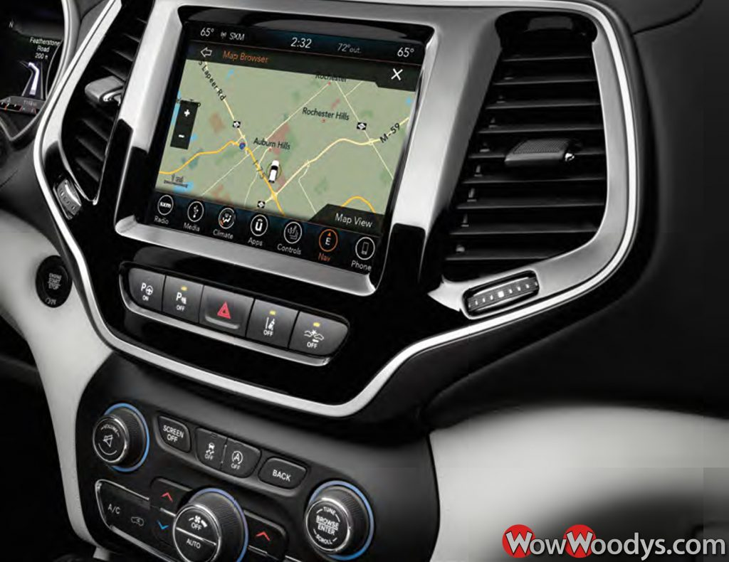 2019 Jeep Cherokee Uconnect