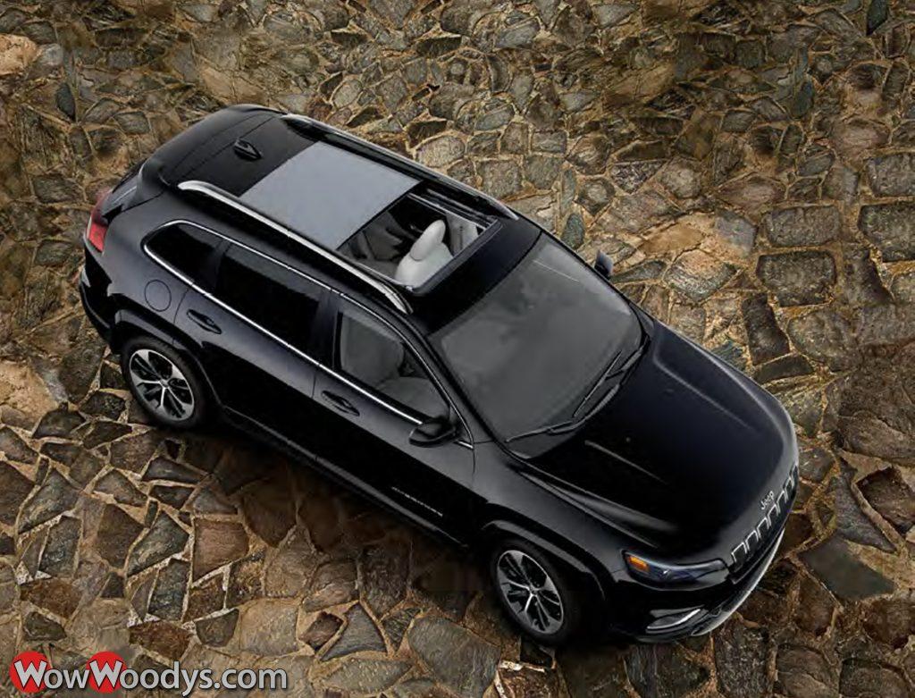 2019 Jeep Cherokee Panoramic Surnoof