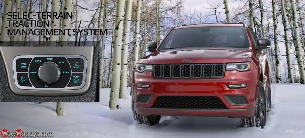 2019 Jeep Grand Cherokee Selec Terrain Management System