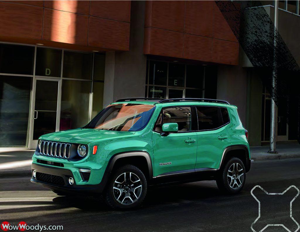 2019 Jeep Renegade Latitude in Bikini Metallic