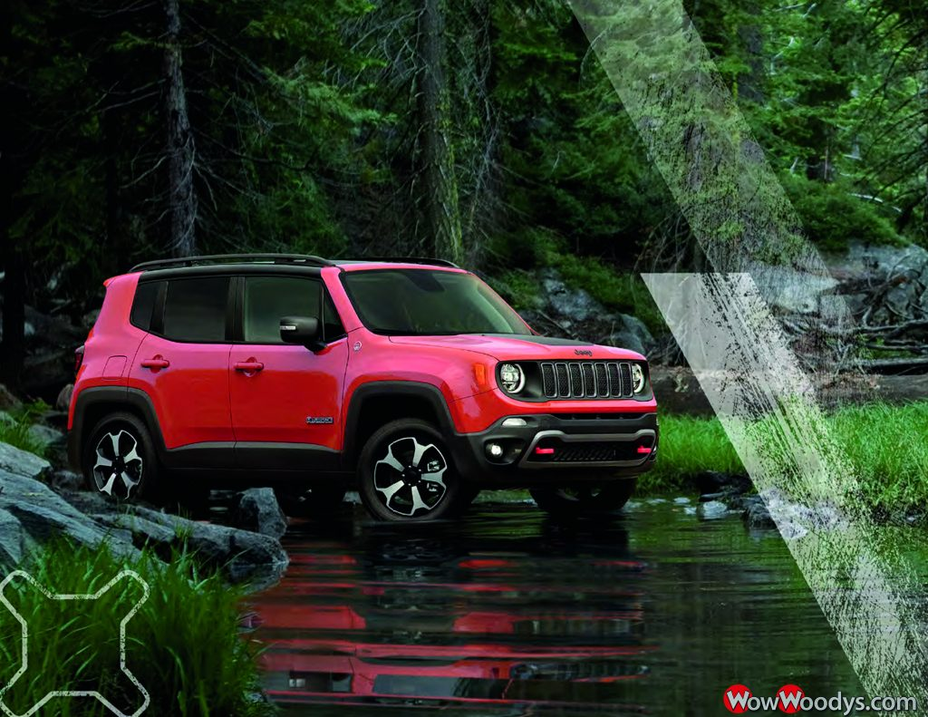2019 Jeep Renegade Driving