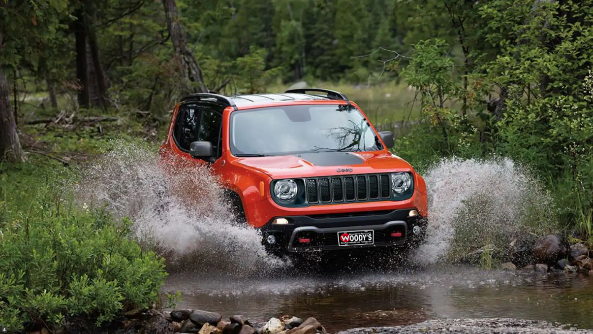 2019 Jeep Renegade Trim Level Comparison