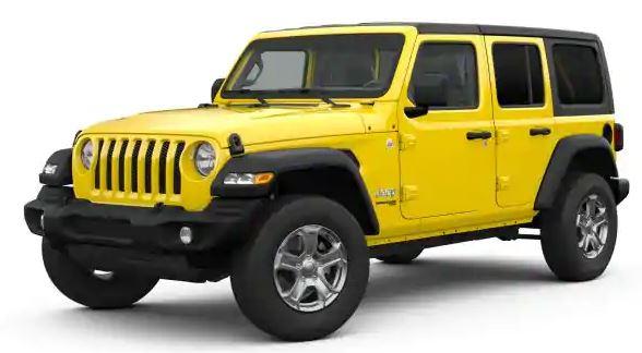 2019 Jeep Wrangler Sport 4 Door