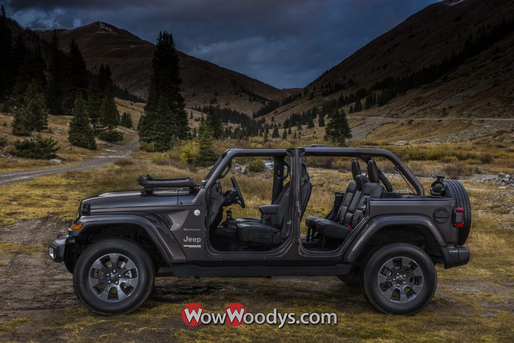 2019 Jeep Wrangler Unlimited Open Air Freedom
