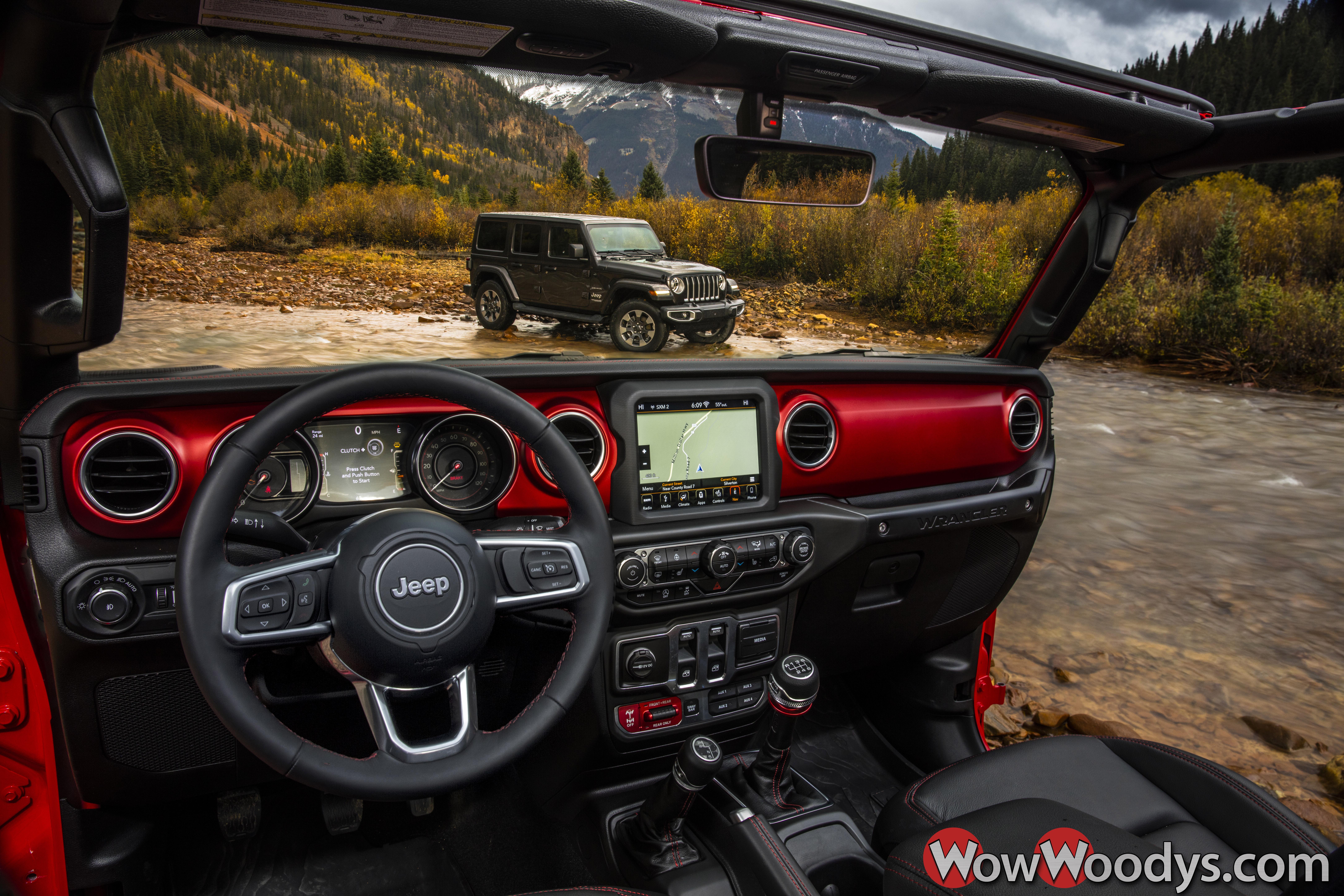 2019 Jeep Wrangler Refined Interior