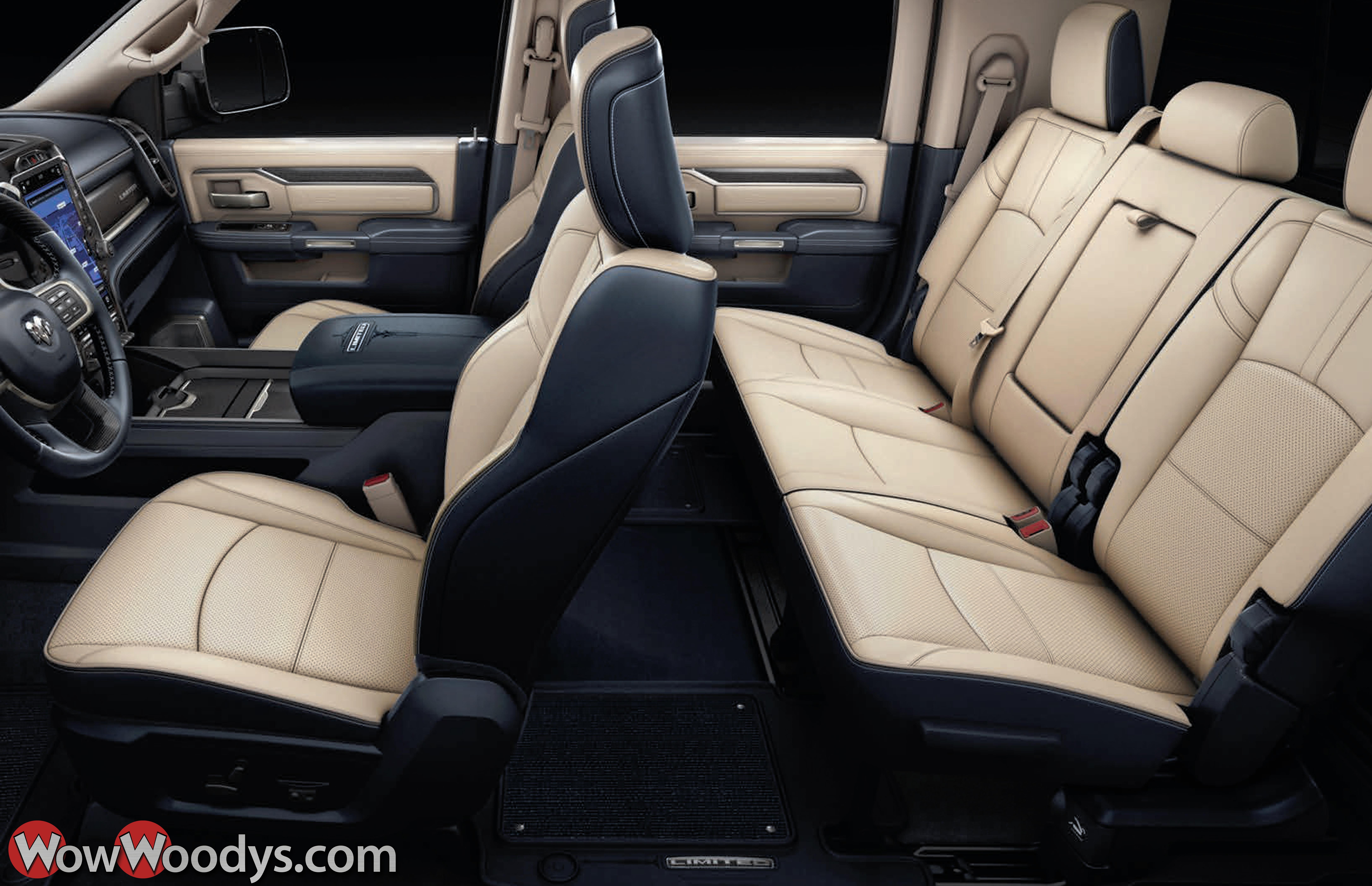 2019 Ram 3500 Luxurious Interiors