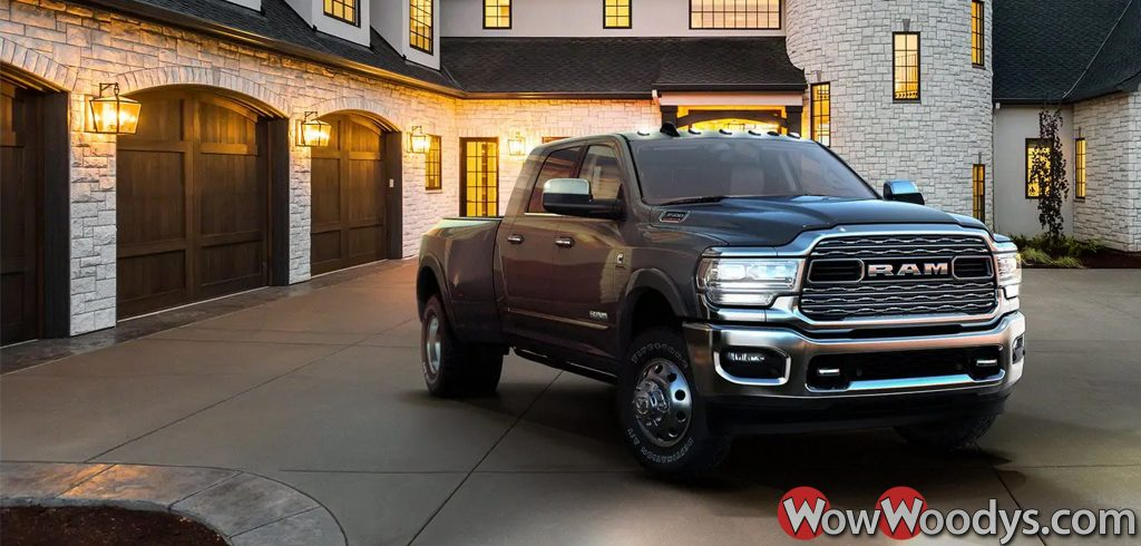 All-new 2019 Ram 3500 Dually Truck