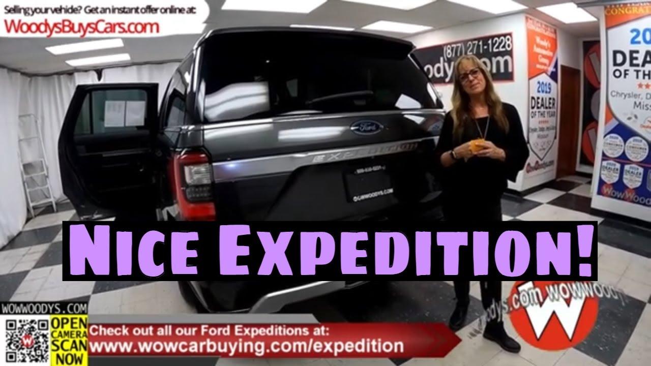 2020 Ford Expedition Max Platinum video walkaround