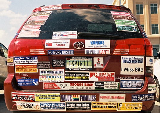 Bumper Stickers Cars