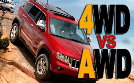 4WD vs. AWD