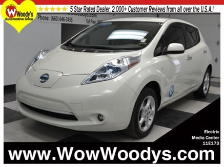 Woody's Nissan Leaf