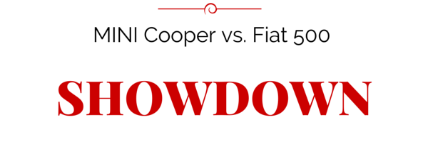 Cooper vs. 500 Showdown at Woody's!