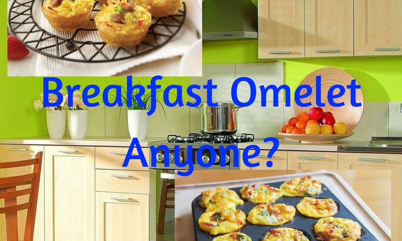 Breakfast omelet on the go for Cuisine 800 wow